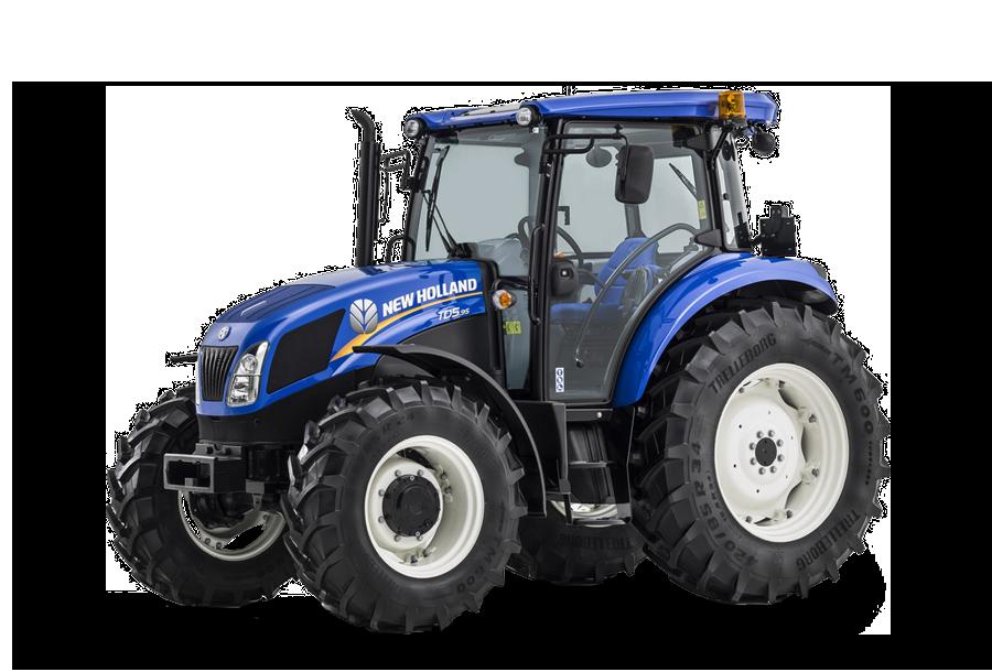 New holland tm mit frontlader traktor steinau